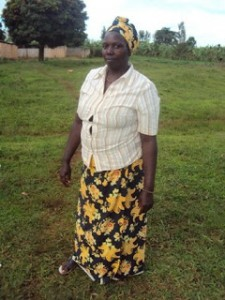 We Help A Widow In Rwanda