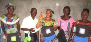 We help a group of people in the Congo grow their businesses