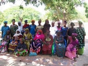 We help a group of women in Senegal