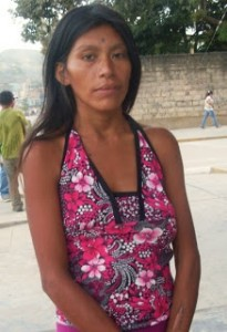 We help a young mum in Peru