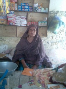 We help a mother of five in Pakistan